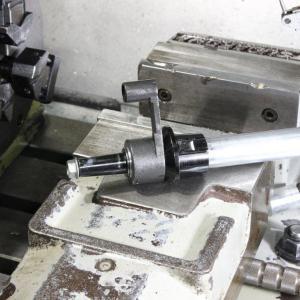 東京マルイ製Mk-46Mod0 のキャリハンとサイトピンの取り付け加工 2