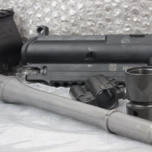 HK416 10.4in.アウターバレルとバレルナットの製作