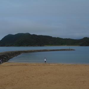 「2021梅雨明け」を待つ八丁浜海岸