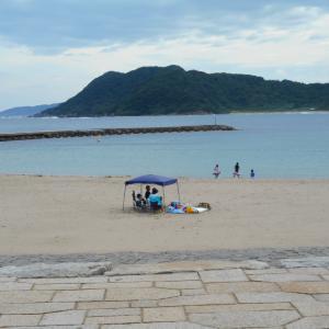 令和元年「海水浴場」は終盤へ