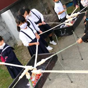 竹パン パン作り体験