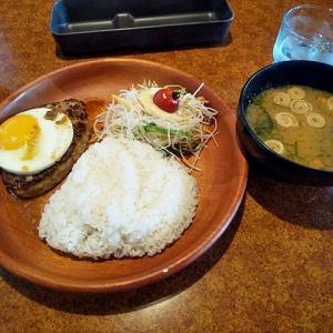 令和02年07月21日(火) 昼:名古屋市港区・びっくりドンキー 港名四店 ハンバーグ 夜:家飯・天ぷら 肉豆腐