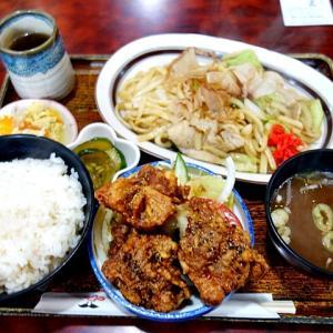 令和02年07月30日(木) 昼:名古屋市港区・レスボアール 多加良浦店 ランチ 夜:家飯・サラダ がブリチキン カップヌードル