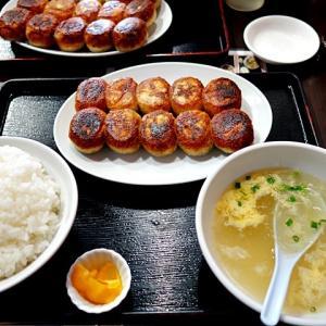 令和03年04月27日(火) 昼:名古屋市緑区・情熱ギョーザ 鳴海店 餃子 夜:家飯・ローソン ごぼうサラダ からあげクン 揚げもん