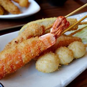 令和03年05月04日(火) 昼:滋賀県甲賀市水口町・串カツ 小栗 串かつ 夜:伊賀家飯・焼肉