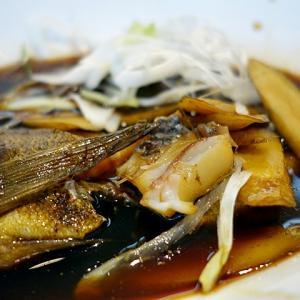 令和03年05月17日(月) 昼:名古屋市緑区・お魚ダイニング ゆうじん 煮魚定食 夜:家飯・ポテサラ こんにゃくはんぺいのピリ辛炒め むね肉メンチカツ