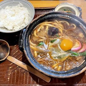 令和03年05月18日(火) 昼:名古屋市緑区・ミッソーニ 味噌煮込みうどん 夜:家飯・ポテサラ ジャーマンポテト キンキの焼いたん