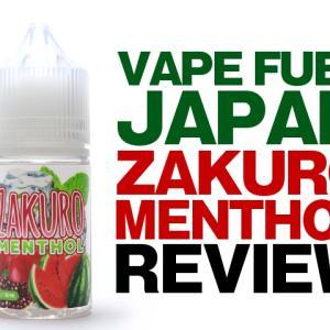 ざくろの衝撃! Vape Fuel Japan ZAKURO Menthol