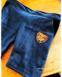 子供服作り再開! mooさんのショートパンツ☆だけど早速アレレな出来事。