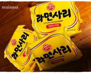 サリ麺を箱買いした日。