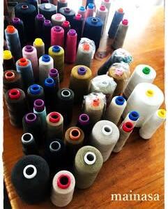 布買い じゃなくて 糸買い 中古ミシン糸セットを買ったよ。