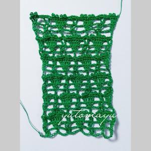 マーガレットの試し編み