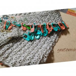 セーラーカラー~衿編み上がり