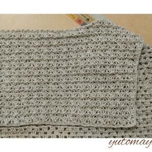セーラーカラー~編み上がり