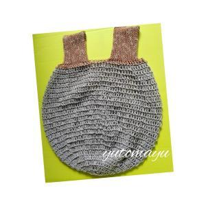 コロンとした手編みエコバッグ2