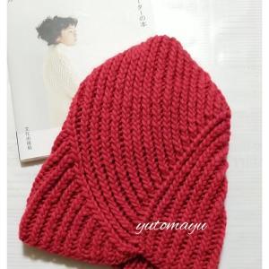 サイチカさんの「冬の帽子」