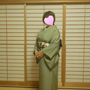 作曲家のご友人から、渋谷オーチャードホールでのコンサートにお招きされましたお客さまのお着付けです