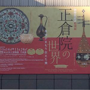 東京国立博物館で開催の「御即位記念特別展・正倉院の世界」へ着物のお出かけ