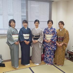 【残席3名様】2カ月(4回)で着る着物・日本橋教室・少人数グループレッスンのご案内です