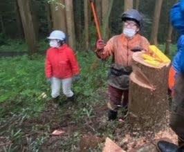 10/16 「森の整備作業のための安全講習会」を実施しました