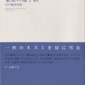 白戸麻奈句集『東京の地下鉄』ふらんす堂