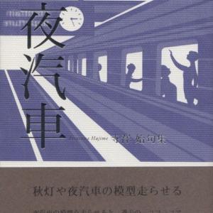 寺澤始・句集『夜汽車』ふらんす堂