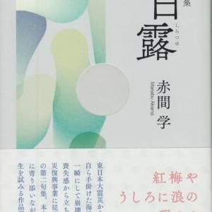 赤間学・句集『白露』朔出版