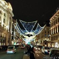 冬のロンドンに行ってきた。光のイルミネーションが豪華で煌びやか!