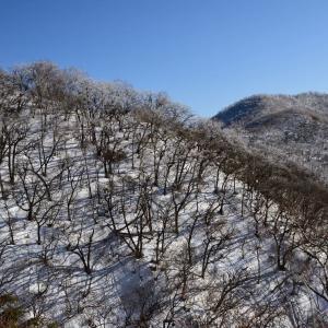 冬の赤城山を往く(その5)下山