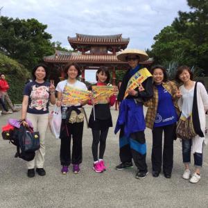 古市さんの沖縄一周歩き旅サポート✨☀️✨