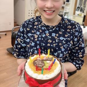 21日はみかちゃんの誕生日でした!