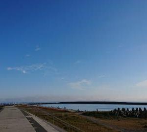 早朝からお出かけ日曜日~閖上港