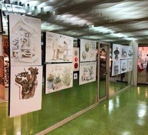 へいはちのお店では「瀬戸内猫の島パネル展」が始まりました。 @nara_mise
