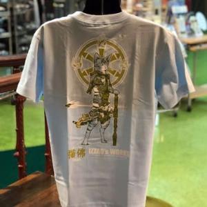 猫佛Tシャツに新色が追加されました! @nara_mise