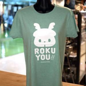 奈良のしか「ロクちゃん」のTシャツが再入荷しました! @nara_mise