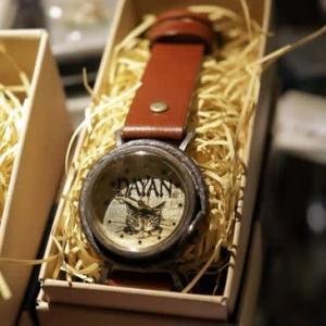 ダヤンの手作り腕時計です! @nara_mise