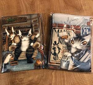 今年も革製スケジュール帳が届きました!ショップ限定品もあります。 @nara_mise