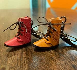 とってもかわいい!靴キーホルダー!! @nara_mise
