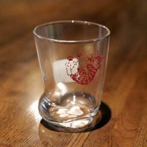久しぶりのダヤンの足みたいなグラス! @nara_mise