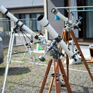 レストア中の天体望遠鏡