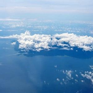 屋久島の空