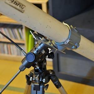 天体望遠鏡整備中