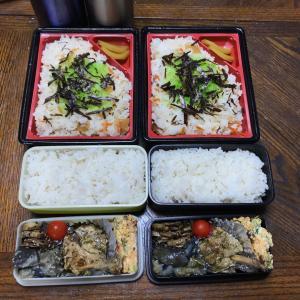 今日はちらし寿司弁当