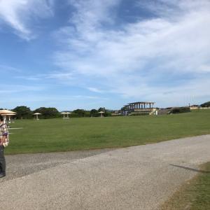 わんこと国営海の中道海浜公園へ