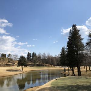 思いっきりゴルフ日和のいいお天気!(^^;)