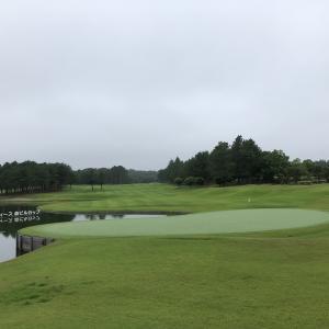 お泊りゴルフ2日目のラウンドです♪