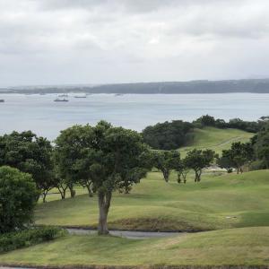南の島のゴルフ、1ラウンド目!(^-^)