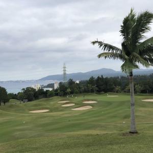 南の島のゴルフ、2ラウンド目!(^-^)