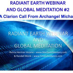 地球瞑想、感動の連続でした/ 大天使ミカエルのエネルギーですか?
