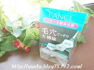体験記 毛穴掃除ができるファンケルディープクリア洗顔パウダー